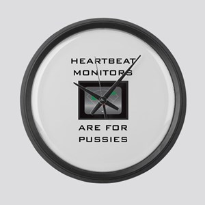 Heartbeat Monitors Large Wall Clock