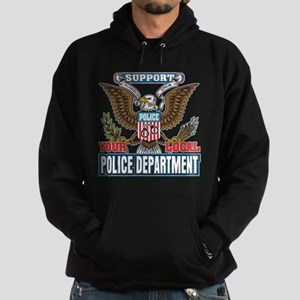 Support Your Local Police Hoodie (dark)