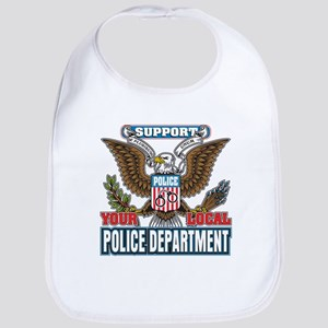 Support Your Local Police Bib