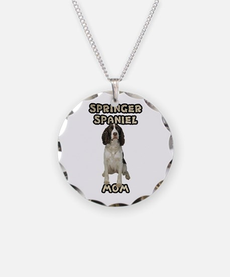 Springer Spaniel Mom Necklace