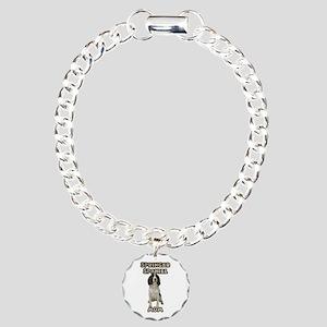 Springer Spaniel Mom Charm Bracelet, One Charm