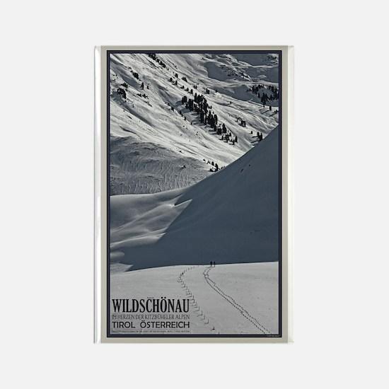 Wildschönau Backcountry Rectangle Magnet