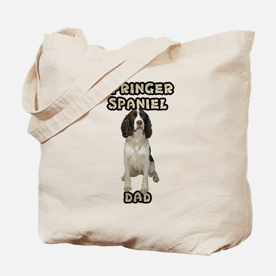 Springer Spaniel Dad Tote Bag