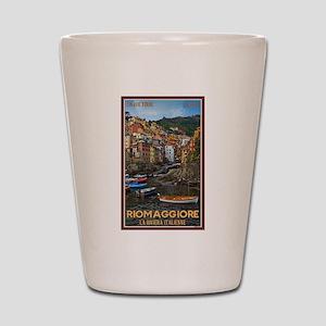 Riomaggiore Shot Glass
