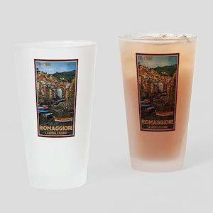 Riomaggiore Drinking Glass