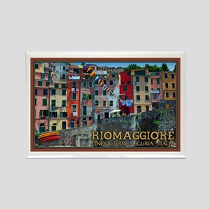 Riomaggiore Waterfront Rectangle Magnet