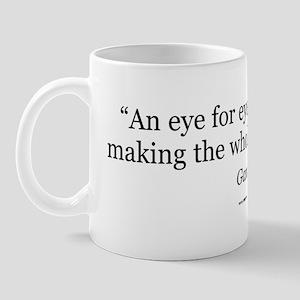 Gandhi Quote Gear Mug