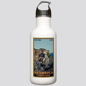 Manarola Town Stainless Water Bottle 1.0L