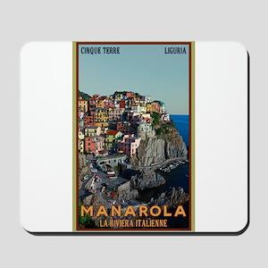 Manarola Town Mousepad
