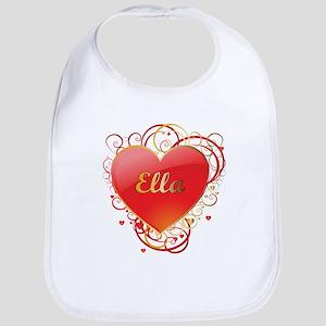 Ella Valentines Bib