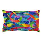 Cosmic Ribbons Pillow Case