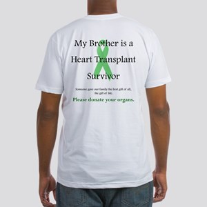 Brother Heart Transplant Fitted T-Shirt