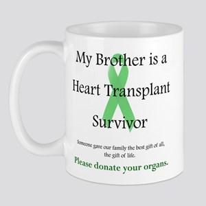Brother Heart Transplant Mug