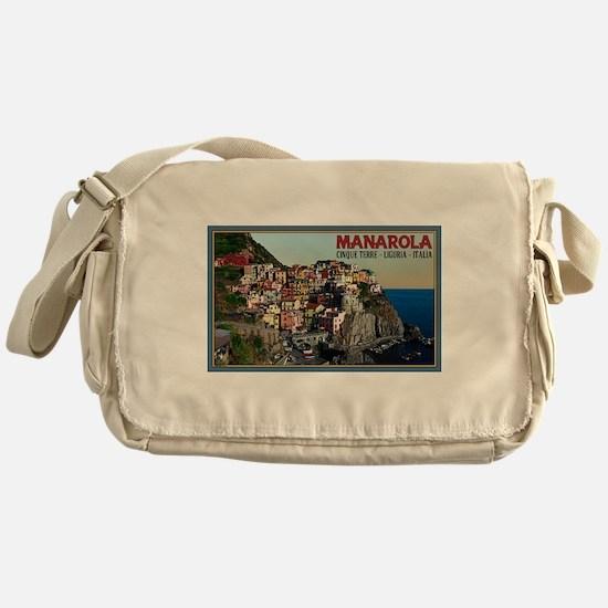 Manarola Town Messenger Bag