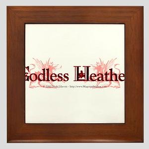Godless Heathen Framed Tile