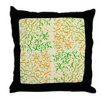 Abstract Arabic Throw Pillow