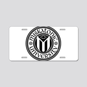 MU Aluminum License Plate