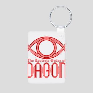 dagon Aluminum Photo Keychain