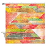 Crystal Colors Shower Curtain