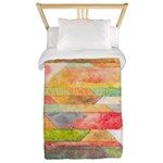Crystal Colors Twin Duvet Cover