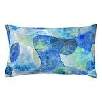 Aquatic Abstract Pillow Case