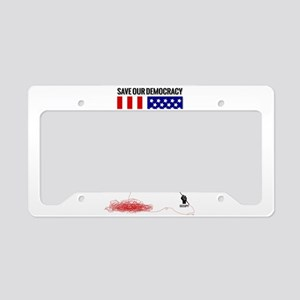 Occupy Flag License Plate Holder