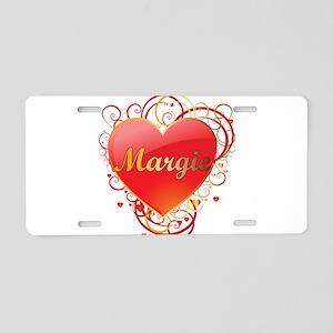 Margie Valentines Aluminum License Plate