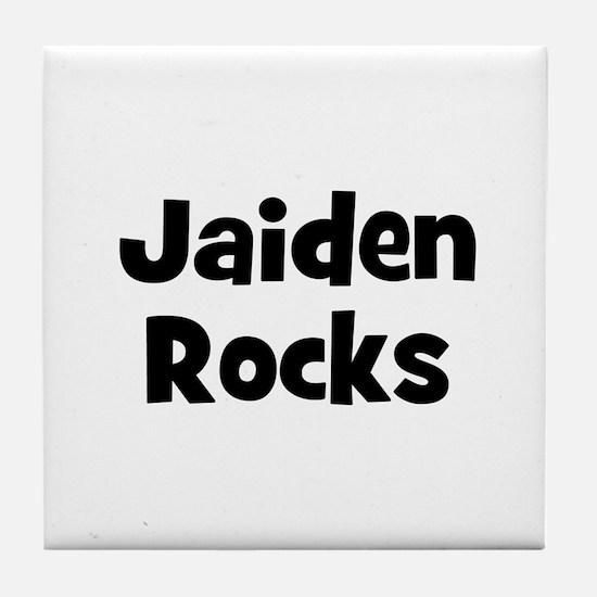 Jaiden Rocks Tile Coaster