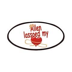 Allen Lassoed My Heart Patches
