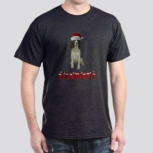 Naughty Springer Spaniel Dark T-Shirt