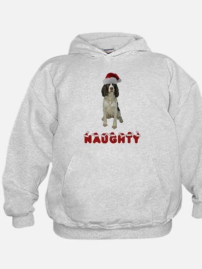 Naughty Springer Spaniel Hoodie