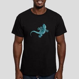 Gecko Men's Fitted T-Shirt (dark)