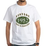 Vintage 1952 Retro White T-Shirt