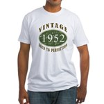 Vintage 1952 Retro Fitted T-Shirt