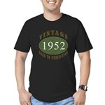 Vintage 1952 Retro Men's Fitted T-Shirt (dark)