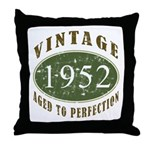 Vintage 1952 Retro Throw Pillow