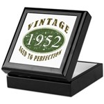 Vintage 1952 Retro Keepsake Box