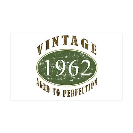 Vintage 1962 Retro 38.5 x 24.5 Wall Peel