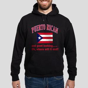 Puerto rican pride Hoodie (dark)