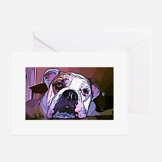 HAPPY BIRTHDAY! - English Bulldog Birthday Card