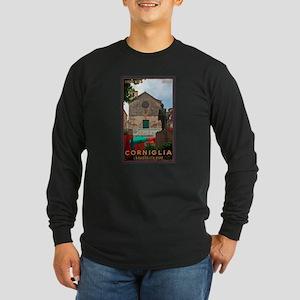 Corniglia Long Sleeve Dark T-Shirt
