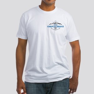 US Navy Corpus Christi Base Fitted T-Shirt