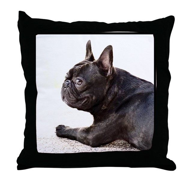 french bulldog height french bulldog throw pillow by ritmoboxers 3375