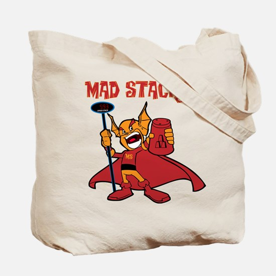 Mad Stacker Tote Bag (on both sides)