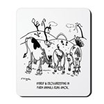 Crossbreeding Run Amok Mousepad