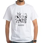 Crossbreeding Run Amok White T-Shirt