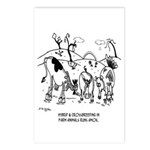 Crossbreeding Run Amok Postcards (Package of 8)