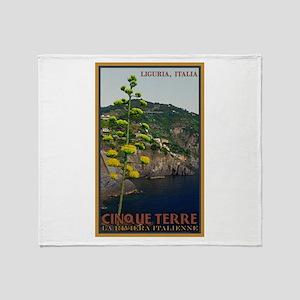 Cinque Terre - Century Plant Throw Blanket