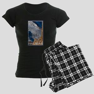 Bossons Crevasses Women's Dark Pajamas