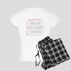 Back Scratch Women's Light Pajamas
